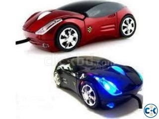 LED Light With Wireless Car mouse
