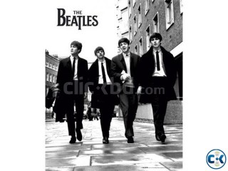 Beatles poster for sale.