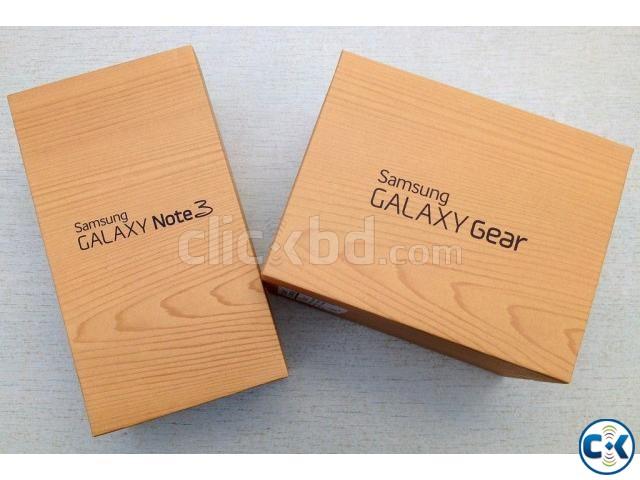 Samsung Galaxy Note-3 and Samsung Galaxy Gear Smartwatch | ClickBD large image 0