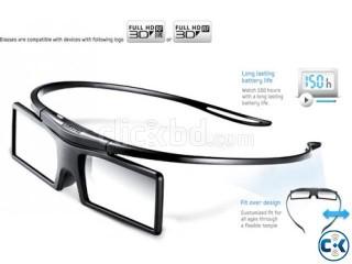 Samsung 2 PCS 3D Glass With 200 3D MOVIES new Original 3D
