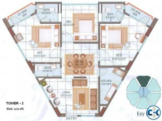 Ready Flat for Sale at Kalyanpur