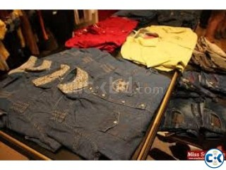I have lots of stock lots garments product . AT LOW PRICE