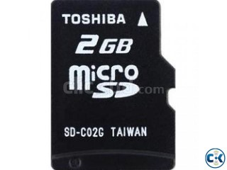 Toshiba 2 GB Memory Card