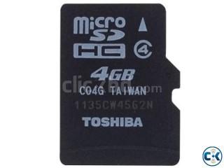 Toshiba 4 GB Memory Card