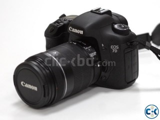 Canon EOS 7D with 18-135mm