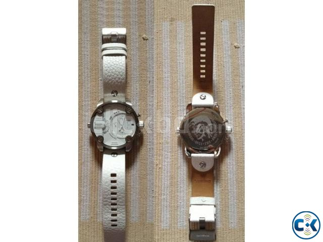 New white Original Chronograph Diesel watch from Germany | ClickBD large image 1