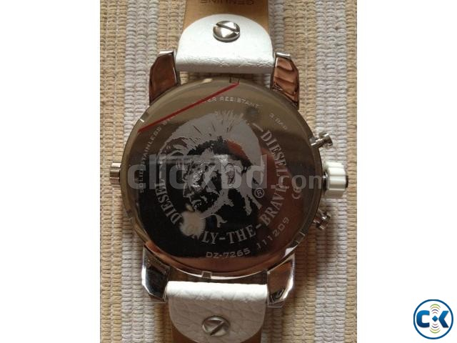 New white Original Chronograph Diesel watch from Germany | ClickBD large image 3