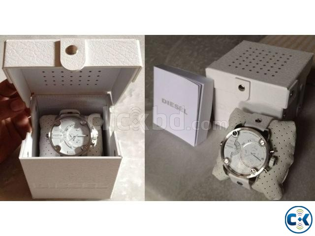 New white Original Chronograph Diesel watch from Germany | ClickBD large image 4