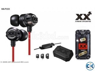 JVC HA-FX3X XTREME XPLOSIVES IN-Ear Headphone