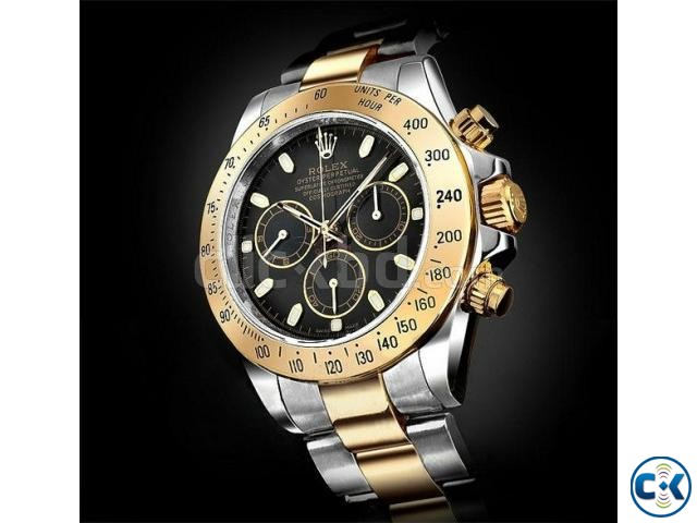 Rolex Daytona Cosmograph Oyster Perpetual Silver Gold Clickbd