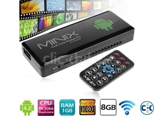 MiniX NEO G4 Android 4.2 Dual Core Pocket PC.
