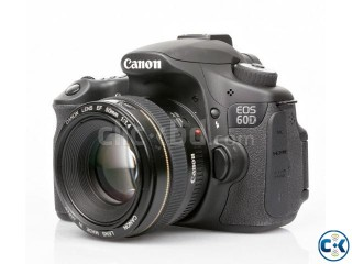 Canon EOS 60D With everything in a cheap price