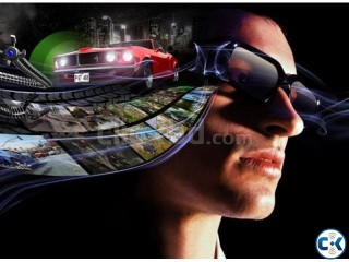 Pc gaming 3d glass and 3d software