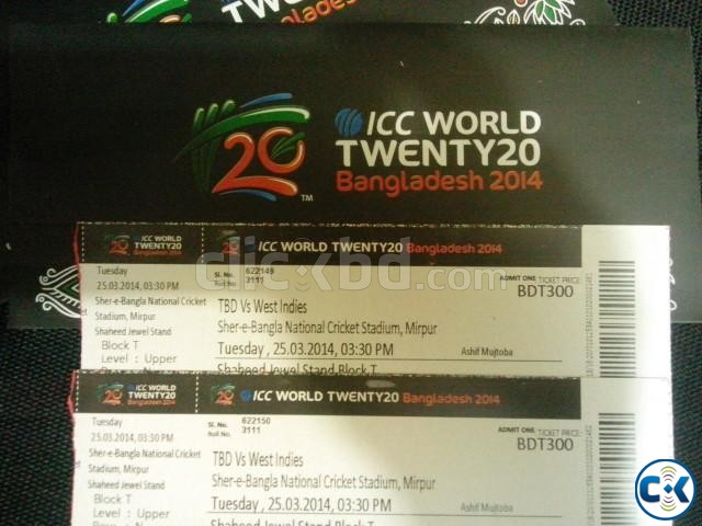 icc world cup t20 tickets