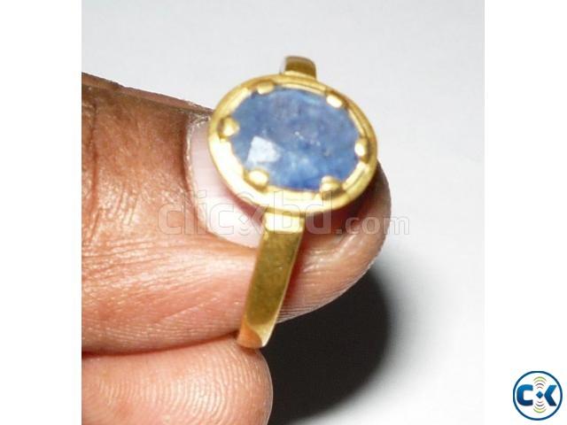 Gemstone Blue Sapphire Groho Rotno | ClickBD large image 0