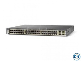 Genuine Cisco WS-C3750-48TS-E w EMI IpServices