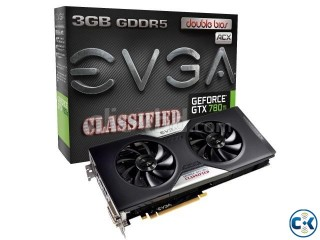 EVGA GeForce GTX 780 Ti Dual Classified w EVGA ACX Cooler