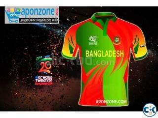 Bangladesh Team Jersey ICC world T20 2014 Best Quality