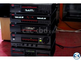 AIWA COMPLETE 5 PICE STERIO SETUP JAPAN FRESH UNTOUCH.