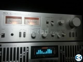 Technics vu meter sterio powerful amplifier untouch.