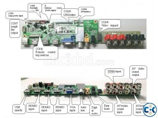 Mother Board for LED LCD LAPTOP TAB with Android Operatin
