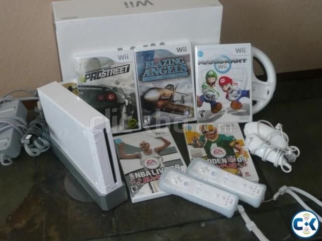 Nintendo modded Wii full package | ClickBD large image 0