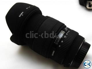Sigma 24-70 f2.8 EX DG macro lens for Nikon