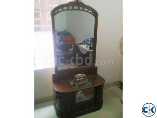 Original Shegun Wood Dressing Table