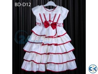 Baby White Black Party Dress