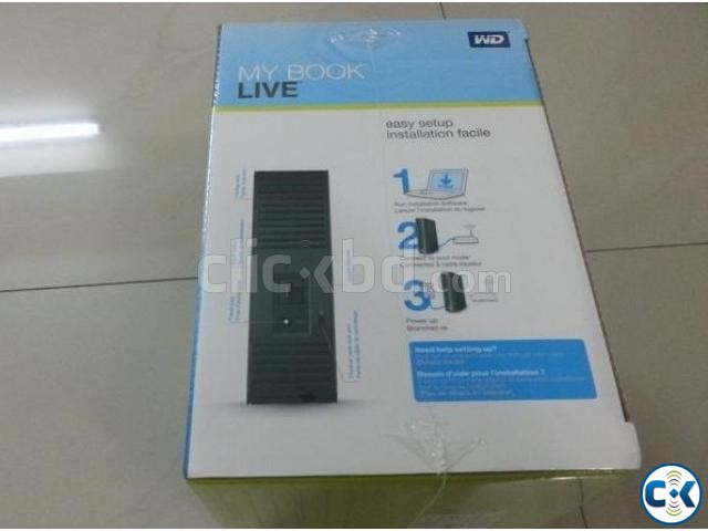 Original WD My Book live 3TB WiFi network NAS | ClickBD large image 1