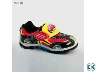 Disney Pixar Exclusive Black Lighting Shoes For Boys