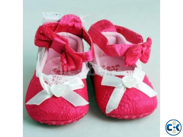 Zara Baby Pink Shoes | ClickBD large image 0
