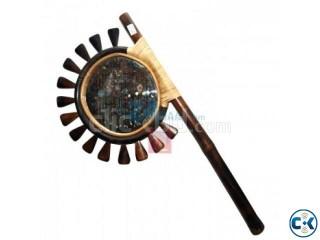 Bangladeshi Glass Hand Fan Showpiece (Hatpakha)