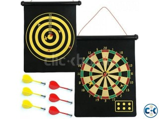 A Target Bullseye Game Dirt Board