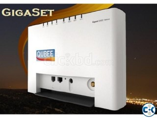Qubee gigaset with wifi Router