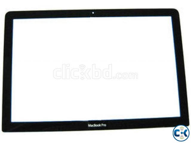 Unibody Macbook Pro Glass Screen Cover Replacement - Front | ClickBD large image 0