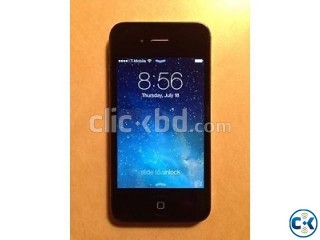 Iphone 4 black 32 GB factory unlocked from USA