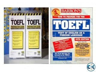 CLIFFS TOEFL BARRON S TOEFL FOR SALE
