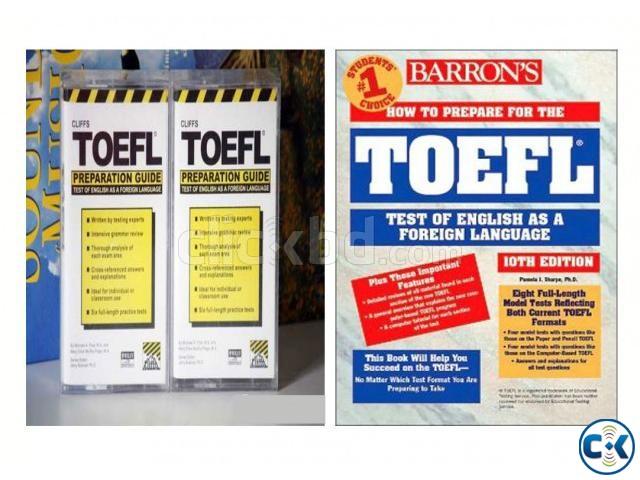 CLIFFS TOEFL BARRON S TOEFL FOR SALE | ClickBD large image 0