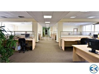6500sft space full decorated for rent