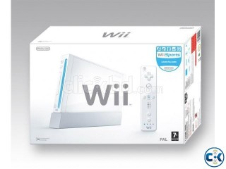 Wii modded Conslole play by copy dvd and hard drive