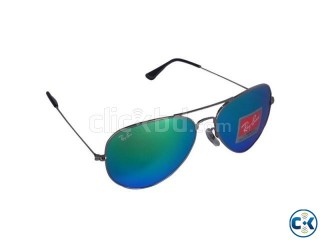 Ray-Ban RB 3026 Aviator Large Metal Blue Mercury
