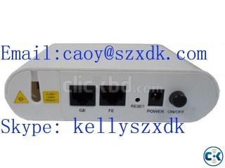 GEPON ONU 1PON SC Interface+1GE +1FE Auto-adaptive RJ45 port
