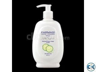 FARMASI FACIAL CLEANSER MILK 280 ML WITH PUMP Cucumber
