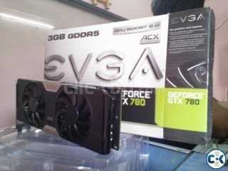EVGA GTX 780 SC w EVGA ACX Cooler GPU