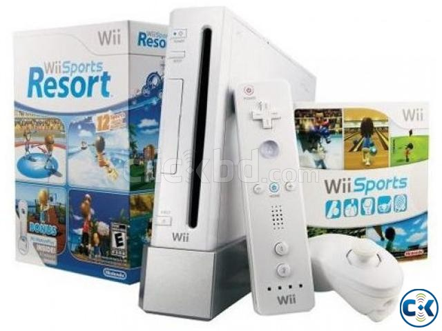 nintendo wii from UK almost new | ClickBD large image 0