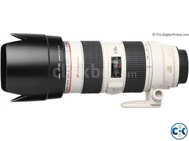 Canon EF 70-200mm f 2.8L IS | ClickBD large image 0