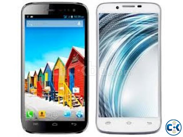 Micromax A116 Canvas HD full boxed.10 months warranty left | ClickBD large image 0