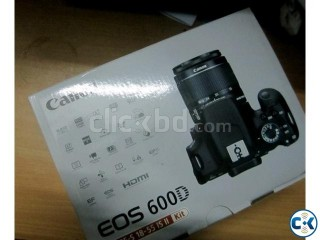 Canon 600D New Fully boxed with 1 Year warrenty