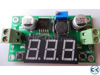 DC-DC Step Down Converter LM2596 Power Supply with Voltmeter